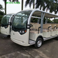 Easy operate electric shuttle sightseeing bus tourist car