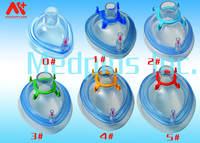 Disposable plastic material Air cushion oxygen mask