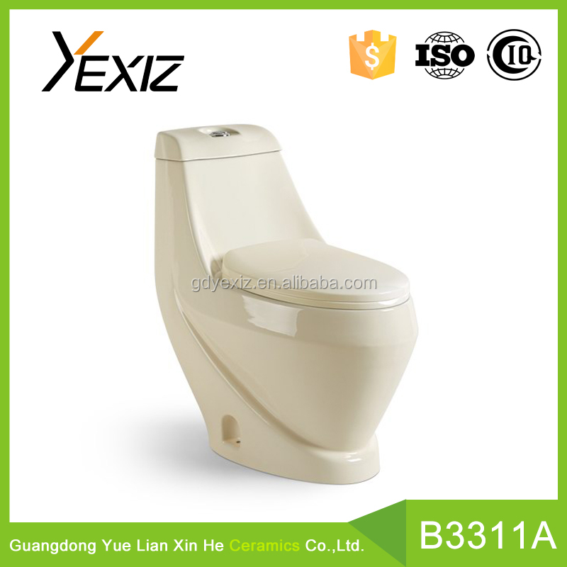 A3311A china manufacture new bone colored bathroom toilet pots