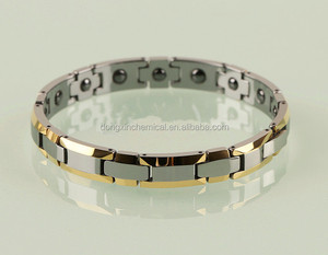 Health magnetic titanium bracelet germanium stainless bracelet
