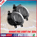 Factory Wholesale 10W round led auto fog light, high power led fog light for Alpha