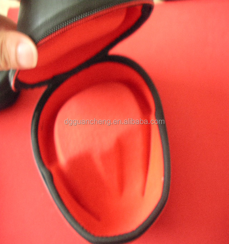 GC----Sells leather hard embossed EVA earphone package hard boxes