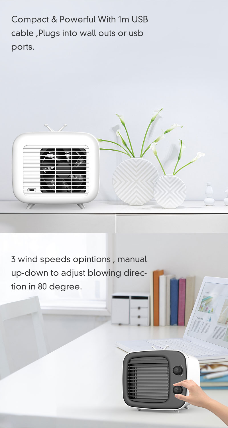 DC 5V 1A  Air conditioner cooler  fan  Fans that cool like air conditioners