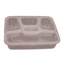 Wholesale Eco-Friendly Baby Food Storage 5 Compartment Disposable Airline Containers