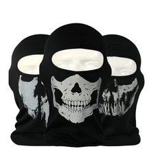 Custom Outdoor Soprts Print Cs Face Mask Skeletons Skull Balaclava