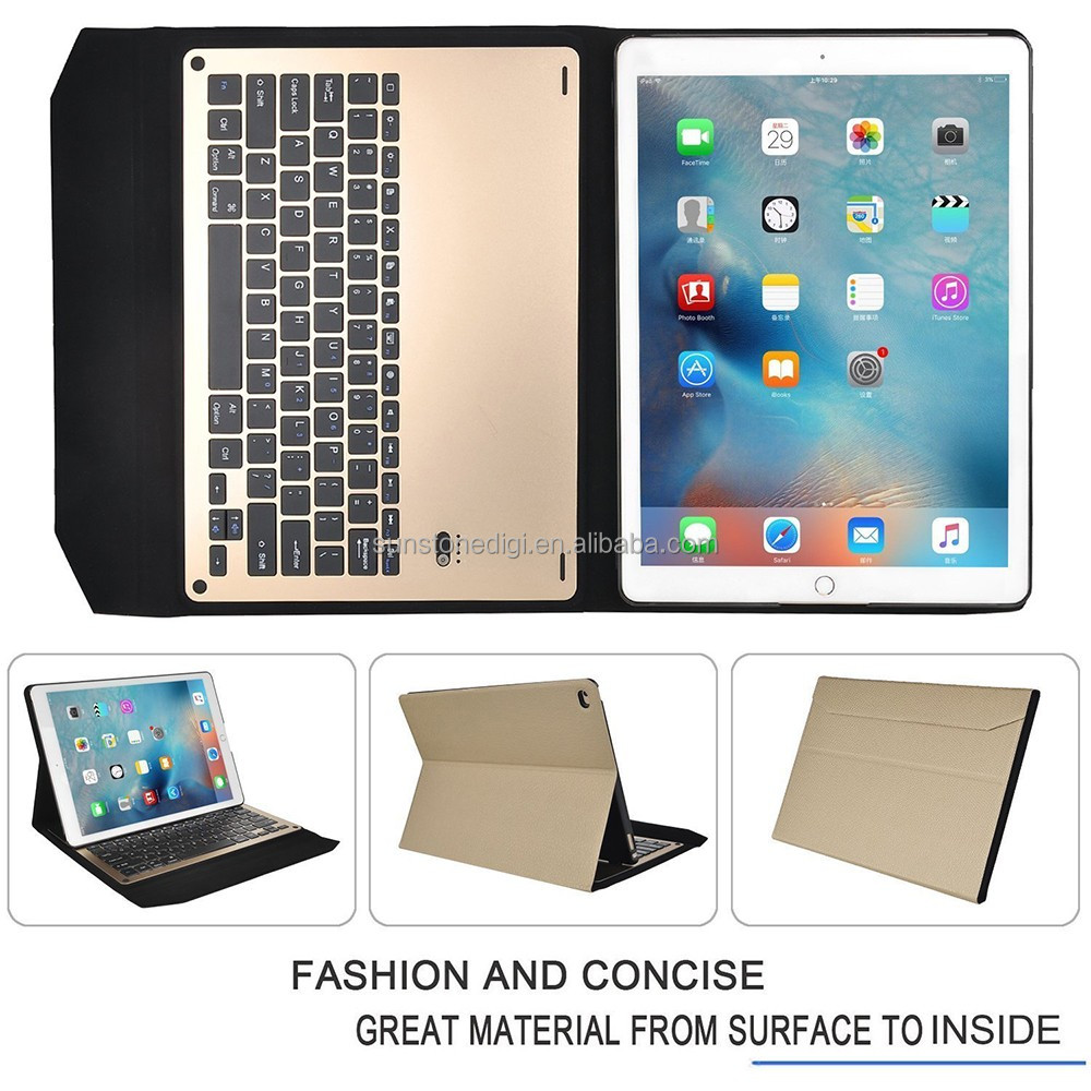 The new keyboard case for iPad Pro Super Bluetooth keyboard leather Tablet cover