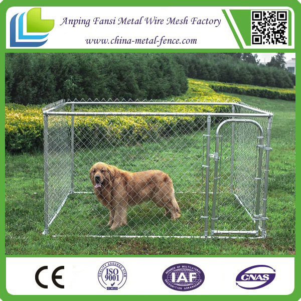 how to build a large dog kennel and run