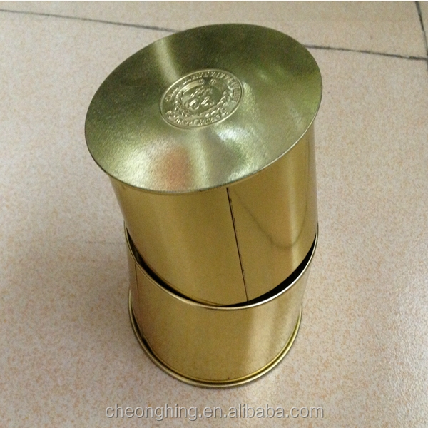 New arrival round tin box
