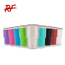 Factory wholesale 30oz Vacuum Insulated vechicle Tumbler Cups / Stainless Steel Beer Mug