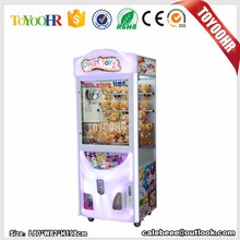 Hot sale Chinese plush mini candy toy doll claw crane vending claw game machine for sale kit crane claw machine for sale