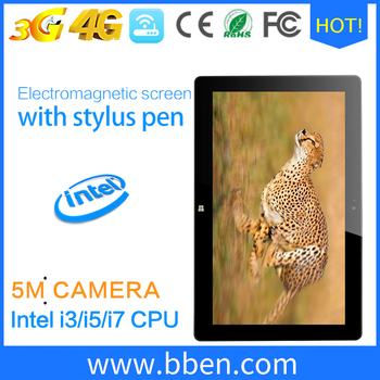 New 4G Tablet pc Intel core i7 windows OS 11.6 inch Intel Quad Core 1.8GHz 8GB RAM 256GB ROM