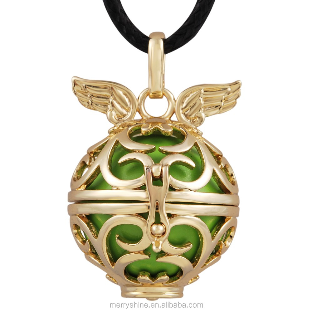 Engelsrufer Chime Ball Women Jewelry Angel Wing Callers for Angel Mother Harmony Bola for Pregnant Lady Mexican Bola Ball H056