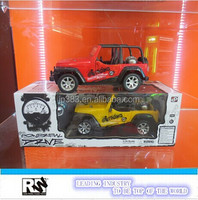 1:16 scale radio control car, open door car toy,kids jeep manufacturer