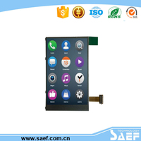 3.5 inch phone lcd with transparent lcd module use touch screen mobile phone