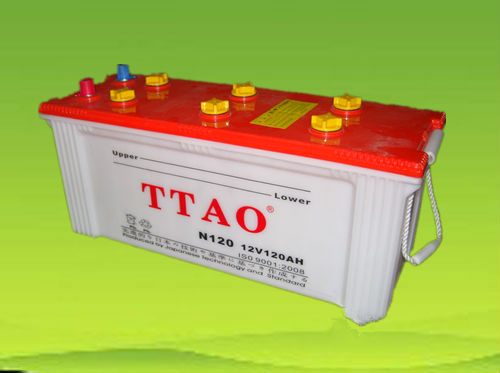 2013 new style accumulator 12 dry charged battery;car accumulator;12V;car battery;china factory;lead acid battery;12V N120;