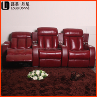 Home theater seating lazy boy chair recliner home cinema top leather general use home furniture for living room