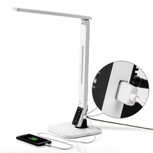multifunction rechargeable portable led desk table lamp with timer