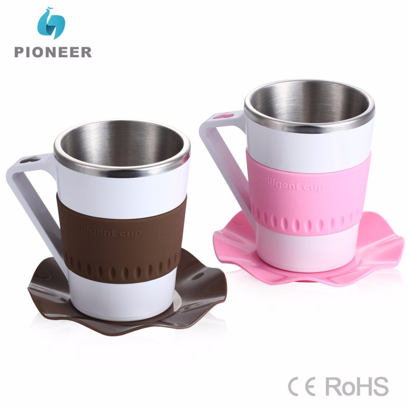 Novelty led flashing coffee mug intelligent temperature display coffee cup smart coffee mug