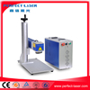 10w / 20W / 50w code/ Logo / date /numbers /metal /pen/ PVC / steel pet bottle laser marking machine Hot sale