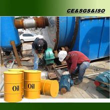 High quality Waste tires pyrolysis plant/used tire prolysis plant with enveronmental protection