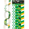Handmade Assorted Party Paper Chain Garland for Saint Patrick's Day Decorations