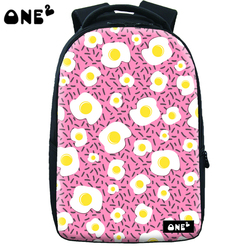 ONE2 design school bag nylon material for boys and girls