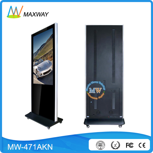 49 55 65 Inch Shopping Mall Supermarket Elevator Full Hd 1080P Lcd Advertising Tv Display
