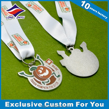 The Great Pumpkin Run Medal Metal Sport Medal With Your Own Logo