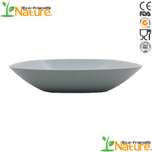 Best Selling Products Handicraft Bamboo Fibre Competivie Melamine Dish