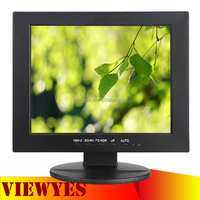 Small LCD Monitor with VGA Input 10 inch Computer Monitor