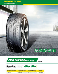 RUN-FLAT ROADCRUZA Car tires with good price from China with ECE DOT GCC BIS