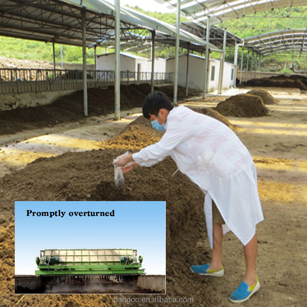 Pangoo Brand Organic Fertilizer maker for chicken manure composting