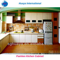 Eco-Friendly kitchen design/white color Kitchen cabinets