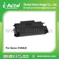 use in xerox phaser 3100 Compatible toner black cartridge for 106R01378 106R01379