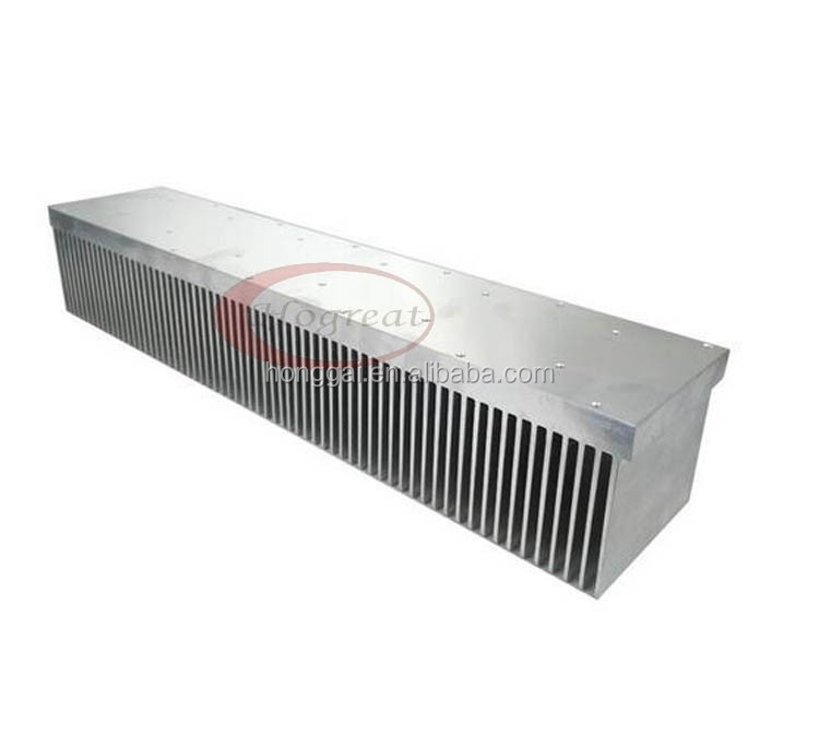 6063 500w extrusion fin aluminium high power heat sink