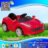 Kids Ride on car for 2-6years old/good baby games toy red color