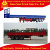 Cheap Flat Bed Semi Trailer To