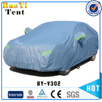 2015 Hot Sell Waterproof PEVA And PP Cotton Car Cover Tent