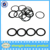 Customized size Black Silicone O Rings Rubber ring Oil Seals Gaskets