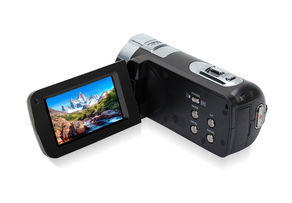 HDV-312P digital video camcorder Full HD 16X Digital Zoom DV camera kit black