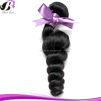 Free Sample Top Grade 100% Human Hair Unprocessed European Hair Weaving Black Loose Wave