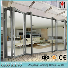 Cheap Price Aluminum Bifold Glass Balcony Sliding Door Price Malaysia