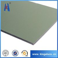 Megabond aluminum composite pnael aluminum cladding for pipe