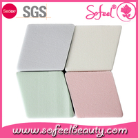 4color super soft square puff sponge