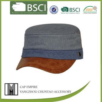 BSCI Audit cotton navy hat for the young latest fashion military cap