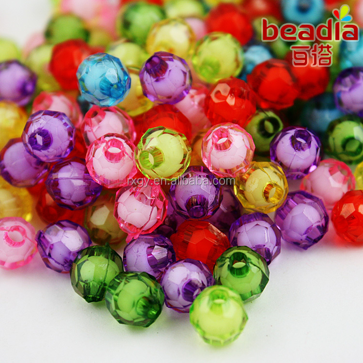 New Style Crystal Beads Glass Material Sewing Bags Decoration Beads