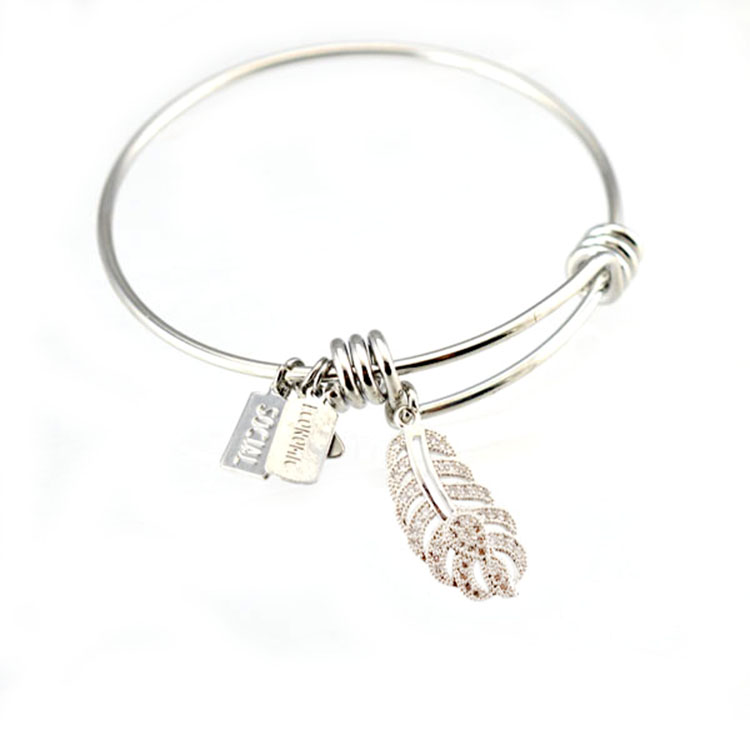 Wholesale Alex inspired adjustable wire wrap bangle