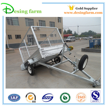 OEM factory Galvanized car towing trailer with car carrying trailer