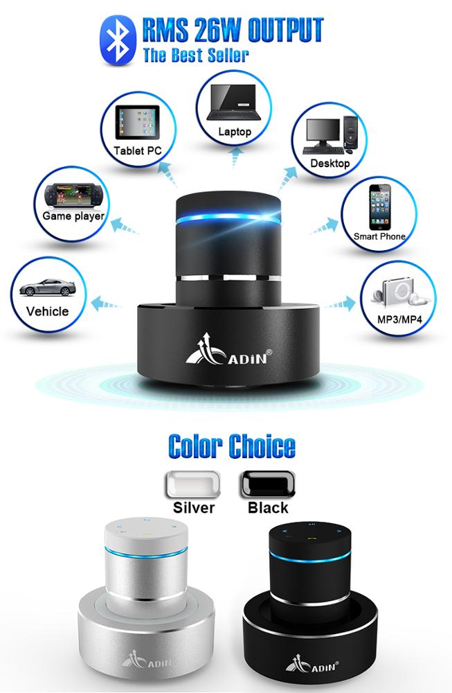 wireless bluetooth vibration speaker outdoor car subwoofer directly from China
