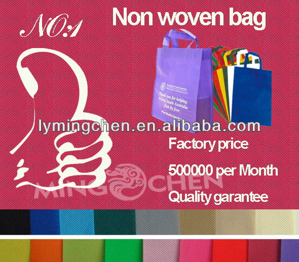 2014 new non woven bag factory price / eco shopping bag/big bag